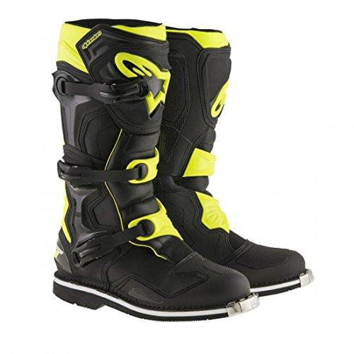 Alpinestars Tech 1 Motocross Boot - BlackYellow - 12