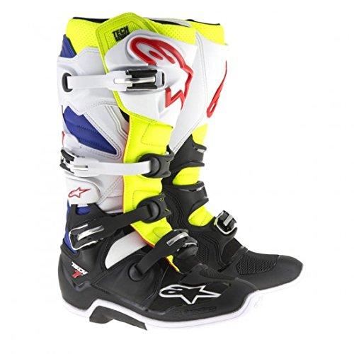 Alpinestars Tech 7 Mens Motocross Boots - YellowBlue - 12