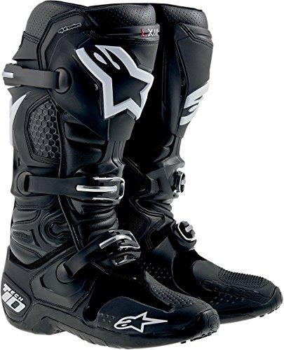Alpinestars Tech 10 Mens Dirt Bike Motorcycle Boots - Black  Size 10