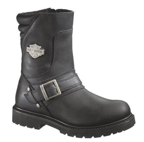 Harley-davidson® Wolverine® Men's Booker Front Strap 8.25-inch Motorcycle Boots. D95194