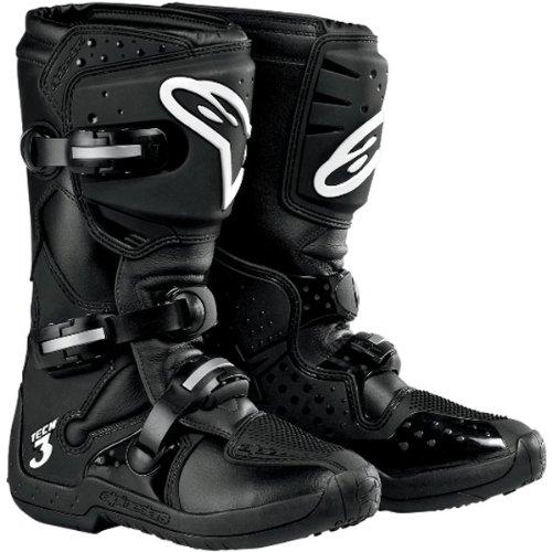 Alpinestars Stella Tech 3 Womens MotoX Motorcycle Boots - Black  Size 7