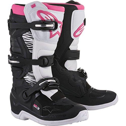 Alpinestars Womens Stella Tech 3 Boots-BlackWhitePink-8
