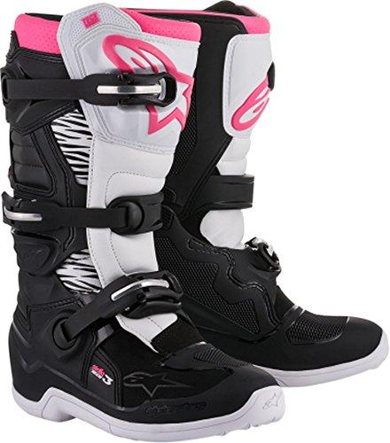 Alpinestars Womens Stella Tech 3 Boots-BlackWhitePink-9