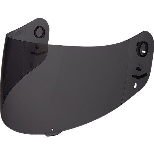 HJC HJ-20 Pinlock Ready Shield RPS-10 Street Bike Motorcycle Helmet Accessories - Dark Smoke  One Size Fits Most
