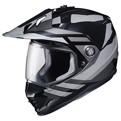 HJC Lander Mens DS-X1 Street Bike Motorcycle Helmet - MC-5 Medium