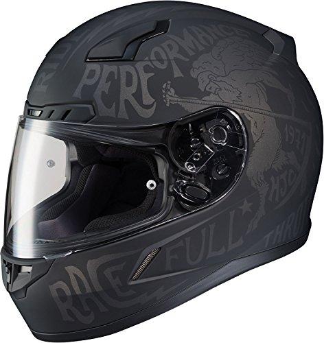 HJC Rebel Mens CL-17 Street Bike Motorcycle Helmet - MC-5F  Medium