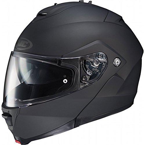 HJC Solid Mens IS-MAX 2 Street Bike Motorcycle Helmet - Matte Black  5X-Large