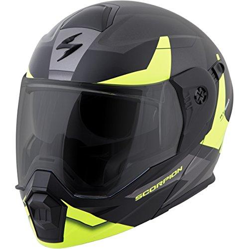 Scorpion EXO-AT950 NeoCon Street Bike Motorcycle Helmet - Hi-Viz  Medium
