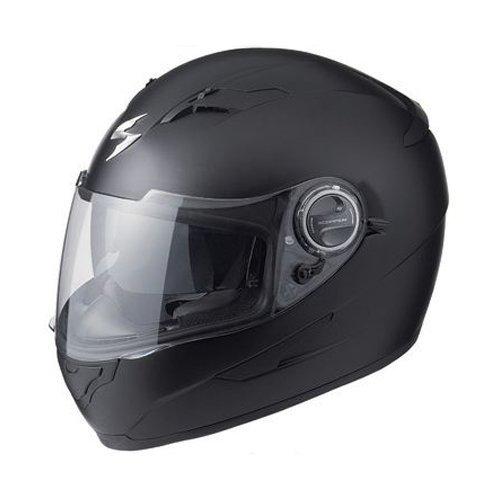Scorpion Solid EXO-500 Street Bike Motorcycle Helmet - Matte Black  X-Large