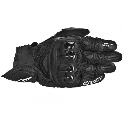 2014 Alpinestars GPX Leather Motorcycle Gloves - Black - 2X-Large