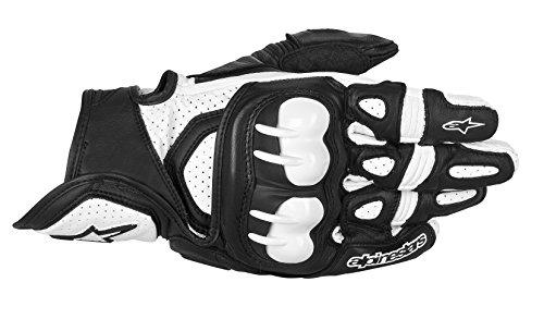 Alpinestars GPX Leather Gloves BlackWhite Small