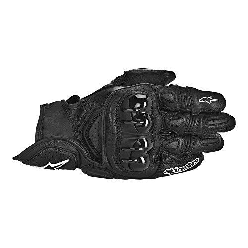 Alpinestars GPX Leather Gloves  Gender MensUnisex Distinct Name Black Primary Color Black Size 3XL Apparel Material Leather 3567013-10-3X