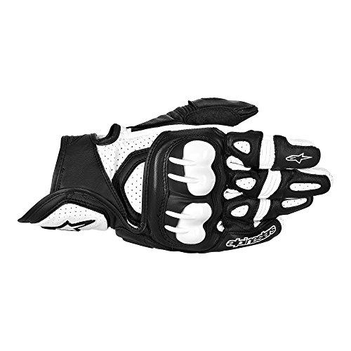 Alpinestars GPX Leather Gloves  Gender MensUnisex Distinct Name BlackWhite Primary Color Black Size 2XL Apparel Material Leather 3567013-12-2X