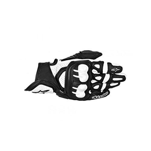 Alpinestars GPX Leather Gloves  Gender MensUnisex Distinct Name BlackWhite Primary Color Black Size Md Apparel Material Leather 3567013-12-M