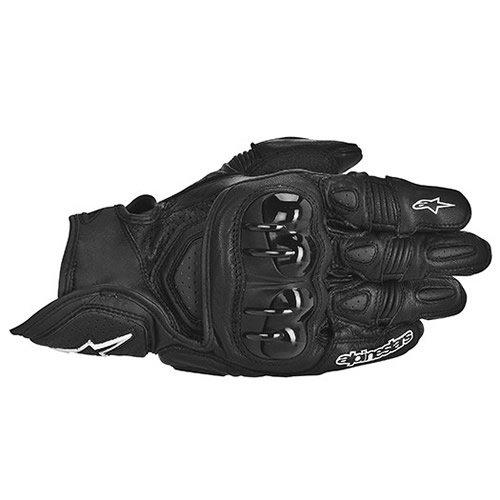 Alpinestars GPX Leather Motorcycle Gloves - Black - Large