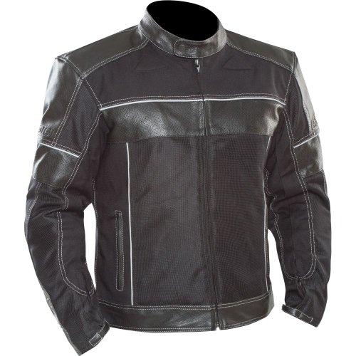 SEDICI Alonso LeatherMesh Hybrid Motorcycle Jacket - 46 Black