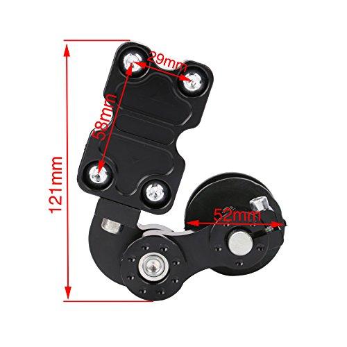 Ocamo Motorcycle Motocross Accessories CNC Chain Automatic Regulator Chain Tensioner black