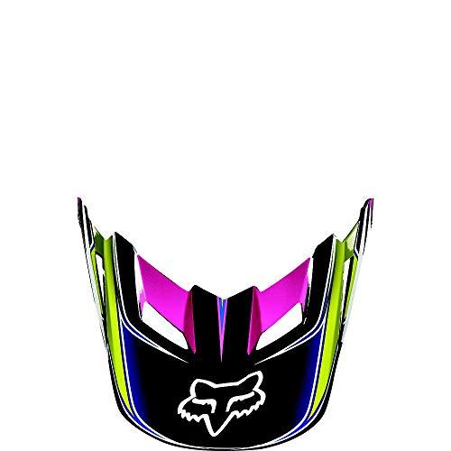 Fox Racing V1 Race Replacement Helmet Visor YellowBlue XLXXL