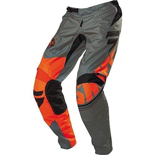 Shift Racing Assault Mens Dirt Bike Motorcycle Pants - Orange  Size 30
