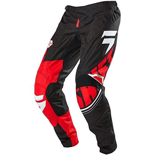 Shift Racing Assault Youth Boys MX Motorcycle Pants - BlackWhite  Size 24