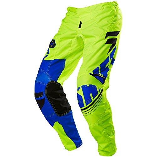 Shift Racing Assault Mens Dirt Bike Motorcycle Pants - YellowBlue  Size 38