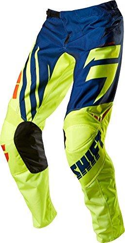 Shift Racing Assault Race Mens Off-Road Motorcycle Pants - NavyYellow  Size 38