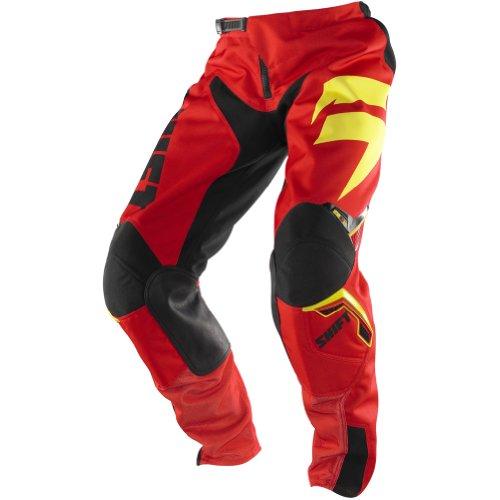 Shift Racing Strike Legion Mens Off-RoadDirt Bike Motorcycle Pants - RedYellow  Size 38