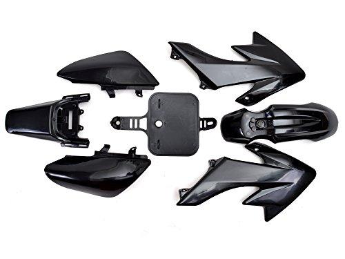 TMS PSHNK Black Plastic Fairing 7 PCS Honda CRF XR 50 CRF 125cc SSR PRO Pit Dirt Bike