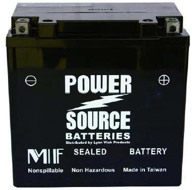 1999-2003 E-Ton AXL TXL NXL RXL 50 and 90cc ATV High Performance Sealed Battery