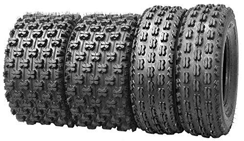 Set of 4 New Sport ATV Tires 22x7-10 Front 22x10-10 Rear 4PR - 1007710089