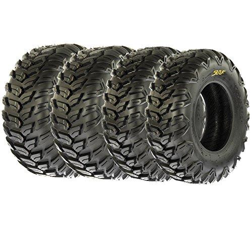 SunF Radial AT Sport ATV UTV Tires 25x8R-12 25x10R-12 6 PR A043 Full set of 4 Front Rear