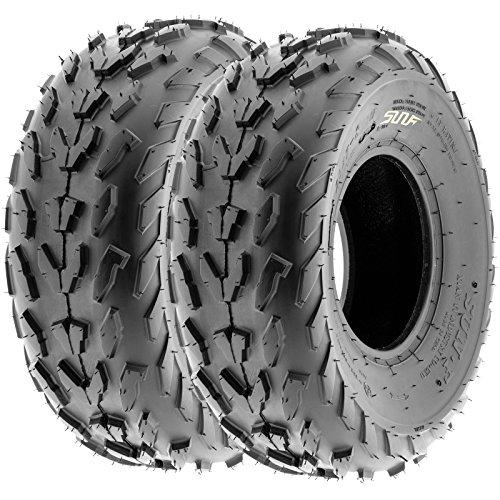 SunF Sport ATV Quad Tires 20x7-8 20x7x8 4 PR A007 Set pair of 2