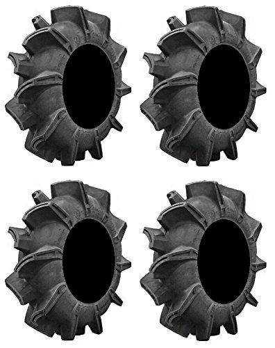 Full set of Super ATV Assassinator 6ply ATV Mud Tires 28x10-14 4