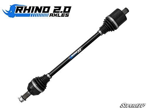 SuperATV Heavy Duty Rhino 20 Stock Length Axle for Polaris RZR XP 1000 2014 - REAR