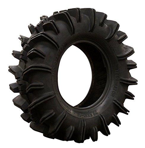 SuperATV Terminator Mud Tire - RZR X3 General Maverick Ranger Rock All Terrain UTV - 295x10-14