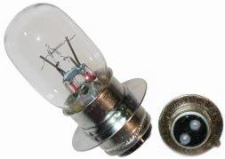N2 H290706 ATV Headlight Bulb - 6 Volts 25 AmpsWatts - Fits Selected Honda Kawasaki Suzuki Yamaha