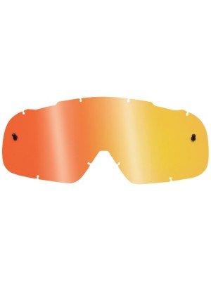 Fox Racing Airspc Lexan Anti-fog Adult Replacement Lens Motox Motorcycle Goggles Eyewear Accessories - Red Spark