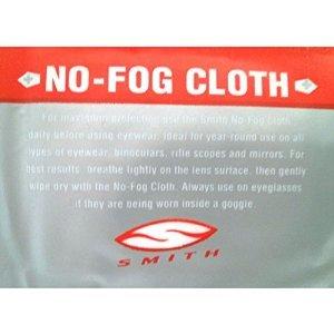 Smith Optics Motocross Goggle Accessories No Fog Cloth (white)
