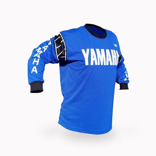 Reign VMX Yamaha Vintage Style Blue Motocross Jersey - Size SM