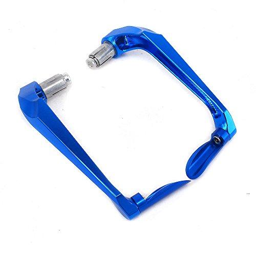 JFG RACING 3D Blue Handguards 22mm Universal Hand Guards Clutch Brake Lever Brush Bar For off Road ATV Yamaha Kawasaki Suzuki Honda KTM Motorcycle Pit Dirt Bike Motocross