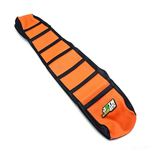 JFG RACING OrangeBlack Gripper Soft Motorcycle Seat Cover For KTM 65 85 105 125 144 150 200 250 300 450 500 530 XC EXC SX SXF 07-14
