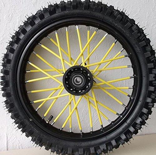 Tencasi Motorcycle Wheel Rim Spoke Skins Covers for Honda 125 CRF2CRF 250 450R X XT 225 250R XR250 400 600 650 Yamaha yz yzf Ktm 250 exc