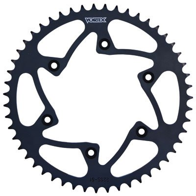 Vortex 520 Steel Rear Sprocket 50 Tooth Black for KTM 450 XC-W 2007-2016