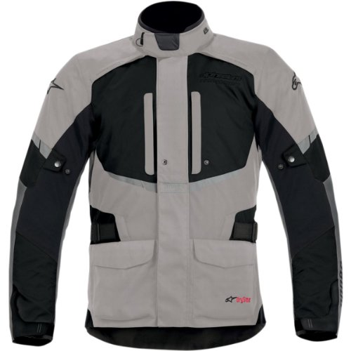 Alpinestars Andes Drystar Jacket  Gender MensUnisex Primary Color Black Size Lg Distinct Name GrayBlack Apparel Material Textile 3205713-921-L