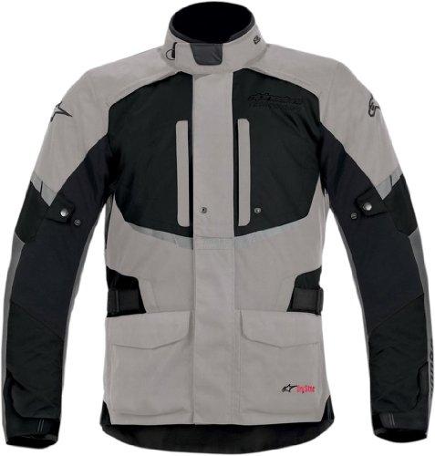 Alpinestars Andes Drystar Mens Street Motorcycle Jackets - GrayBlack  Large