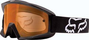 Fox Racing Main Enduro Adult Moto Motorcycle Goggles Eyewear - BlackOrange  One Size
