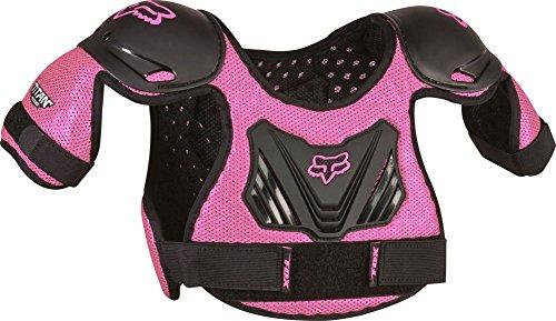 Fox Racing PeeWee Titan Youth Roost Deflector Motocross Motorcycle Body Armor - BlackPink  MediumLarge