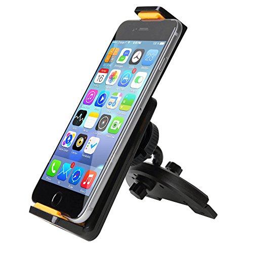 Car Mount, Ipow 360°rotation Smartphone Tablet Cd Slot Car Mount Holder Cradle For Ipad Mini 4 3 2 1,samsung Galaxy