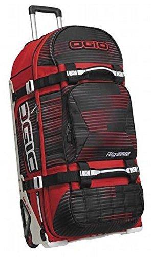 Ogio Rig 9800 Gear Luggage Bag Wheeled Red & Black Stoke