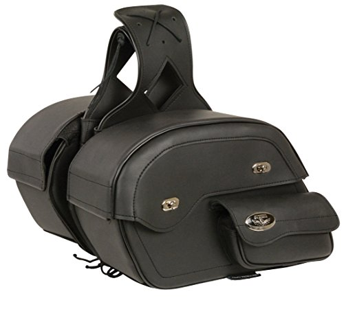 Milwaukee MP8305-BLK-PCS Black Saddle Bag